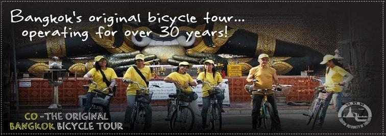 Co van Kessel Bangkok - Bike and Boat tours